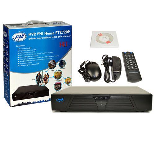 Nvr Pni House Ptz720p - 4 Canale Ip 720p Sau 4 Canale Analogice