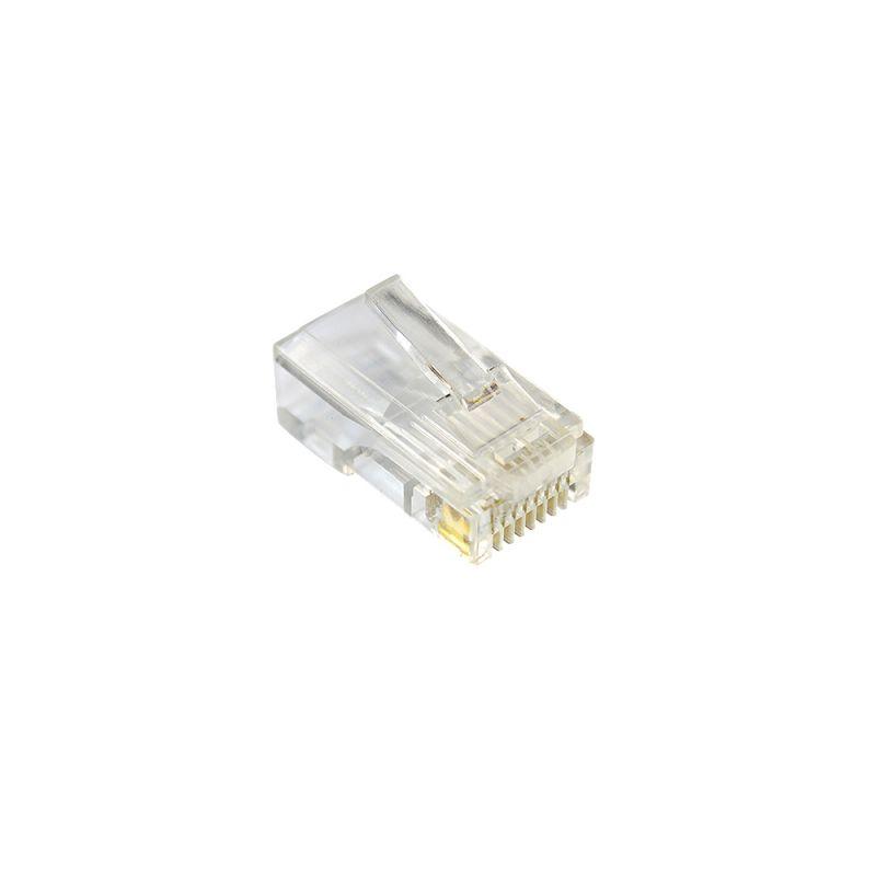 Mufa PNI RJ45 pentru cablu UTP Cat 6 set 10 buc