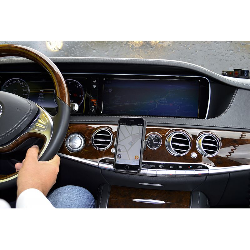 Suport Auto Universal Silvercloud Easy Drive Five Pentru Grila Ventilatie Pni-sced05