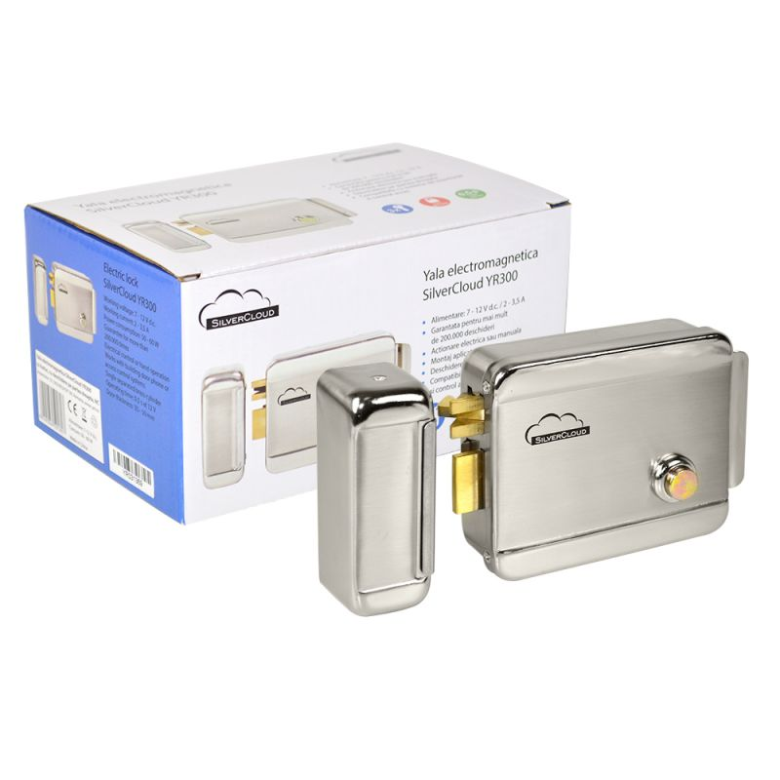 Yala electromagnetica SilverCloud YR300 cu butuc cu deschidere pe partea dreapta NC