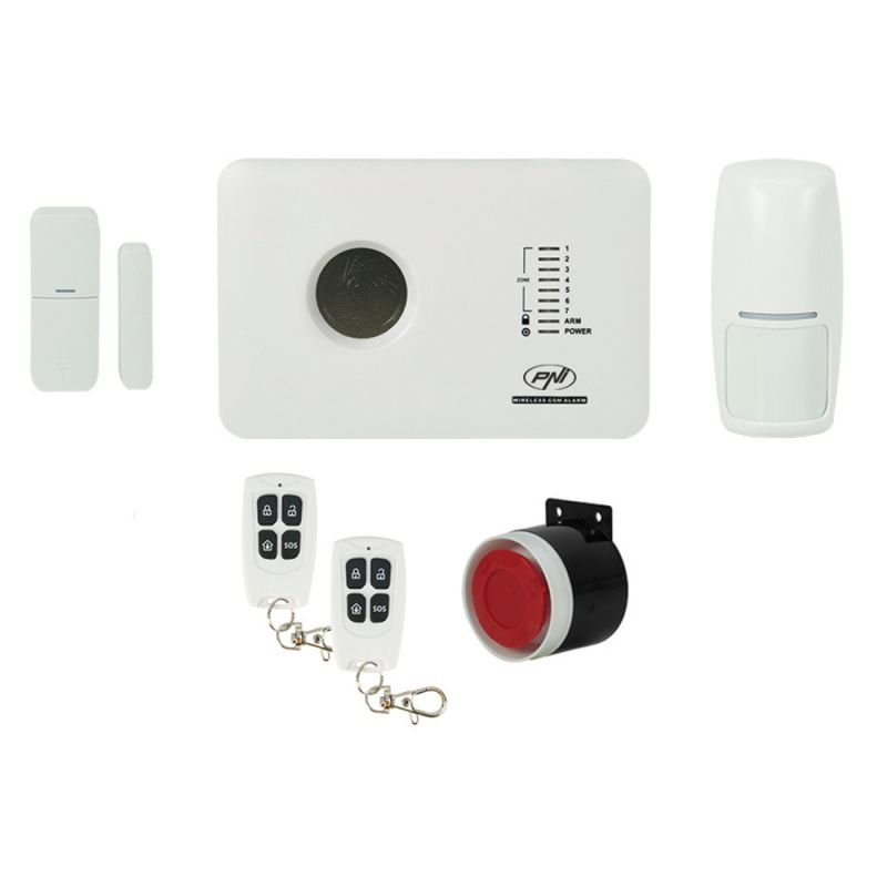 Sistem de alarma wireless PNI SafeHouse PG300 comunicator GSM PNI-SHPG300