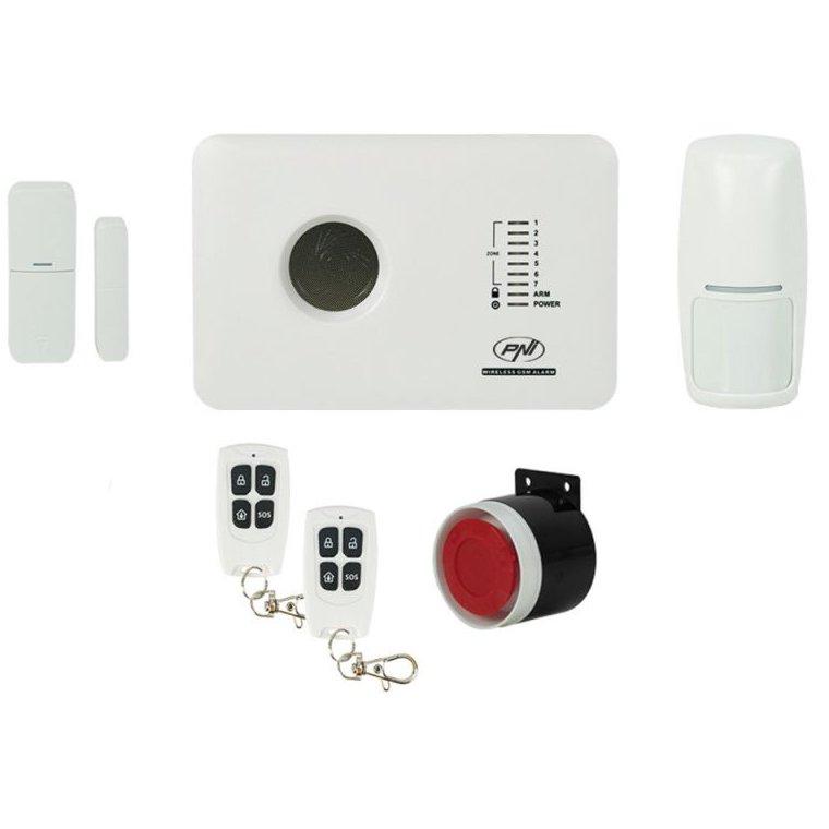 Sistem De Alarma Wireless Pni Safehouse Pg300 Comunicator Gsm Pni-shpg300