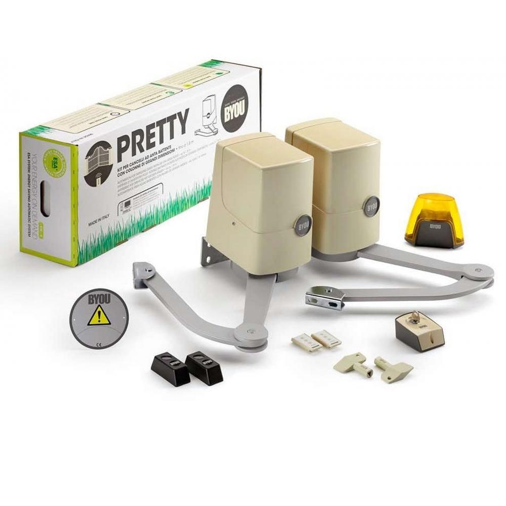 Kit Automatizare Porti Batante 2 X 1 8m Pretty