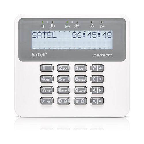 Tastatura alarma Satel PRF-LCD Afisaj LCD Compatibila PERFECTA