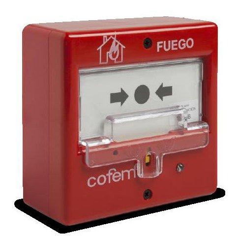 Imagine Buton De Panica Manual Cofem Adresabil Pucaying