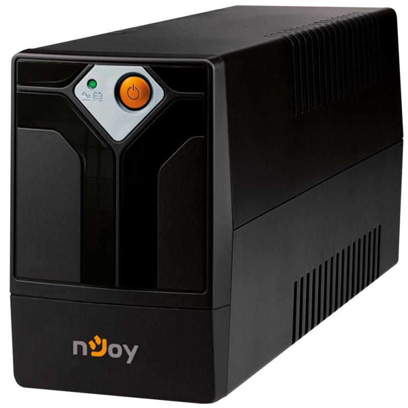UPS nJoy Septu 600 600VA/360W Line-interactive 2 Prize Schuko cu Protectie Repornire Automata Reglaj Automat al Tensiunii