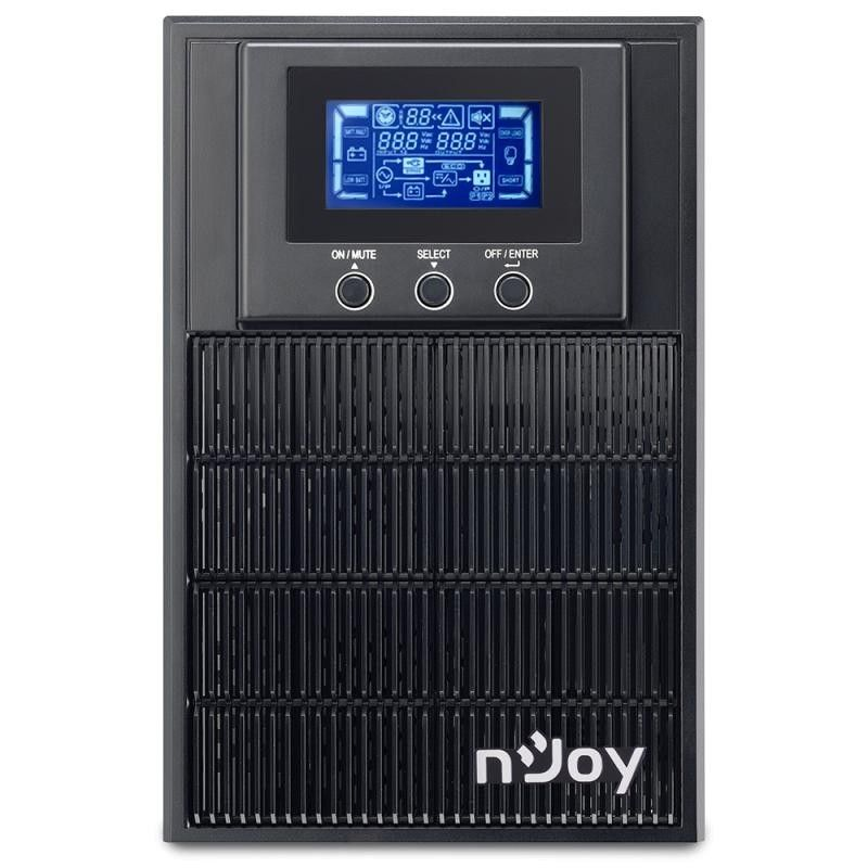 Imagine indisponibila pentru UPS nJoy Aten 1000 1000VA/800W On-line LCD Display 3 Prize Schuko cu Protectie Management Tower Dubla conversie PWUP-OL100AT-AZ01B