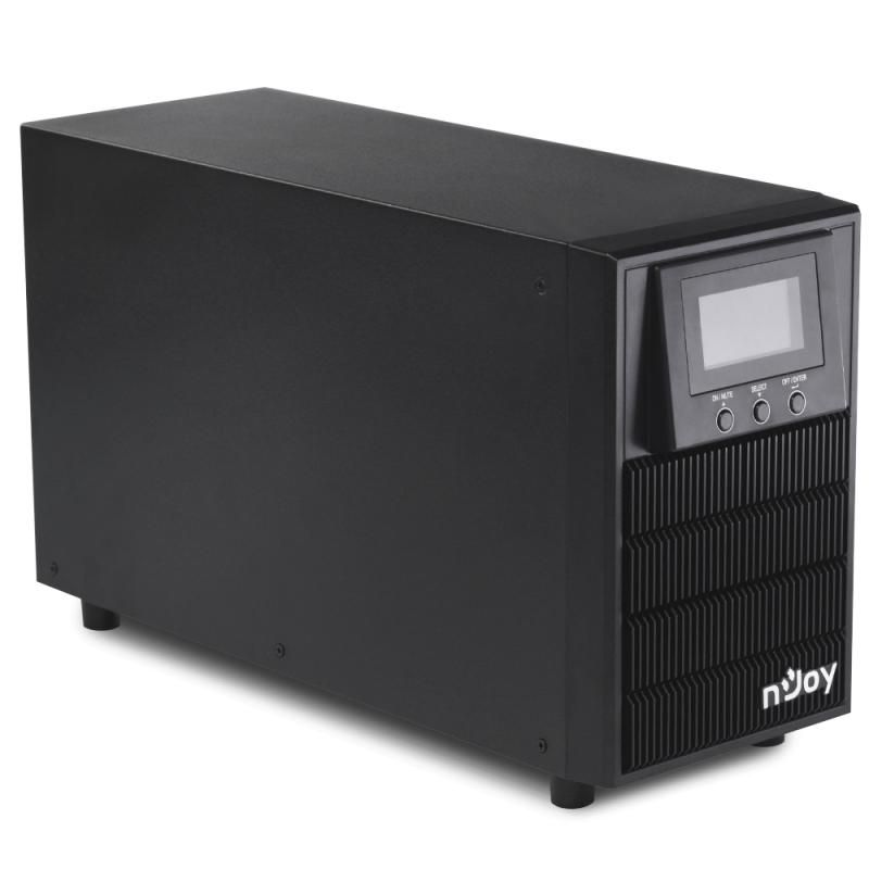 Imagine indisponibila pentru UPS nJoy Aten 2000 2000VA/1600W On-line LCD Display 3 prize Schuko cu protectie Tower dubla conversie PWUP-OL200AT-AZ01B