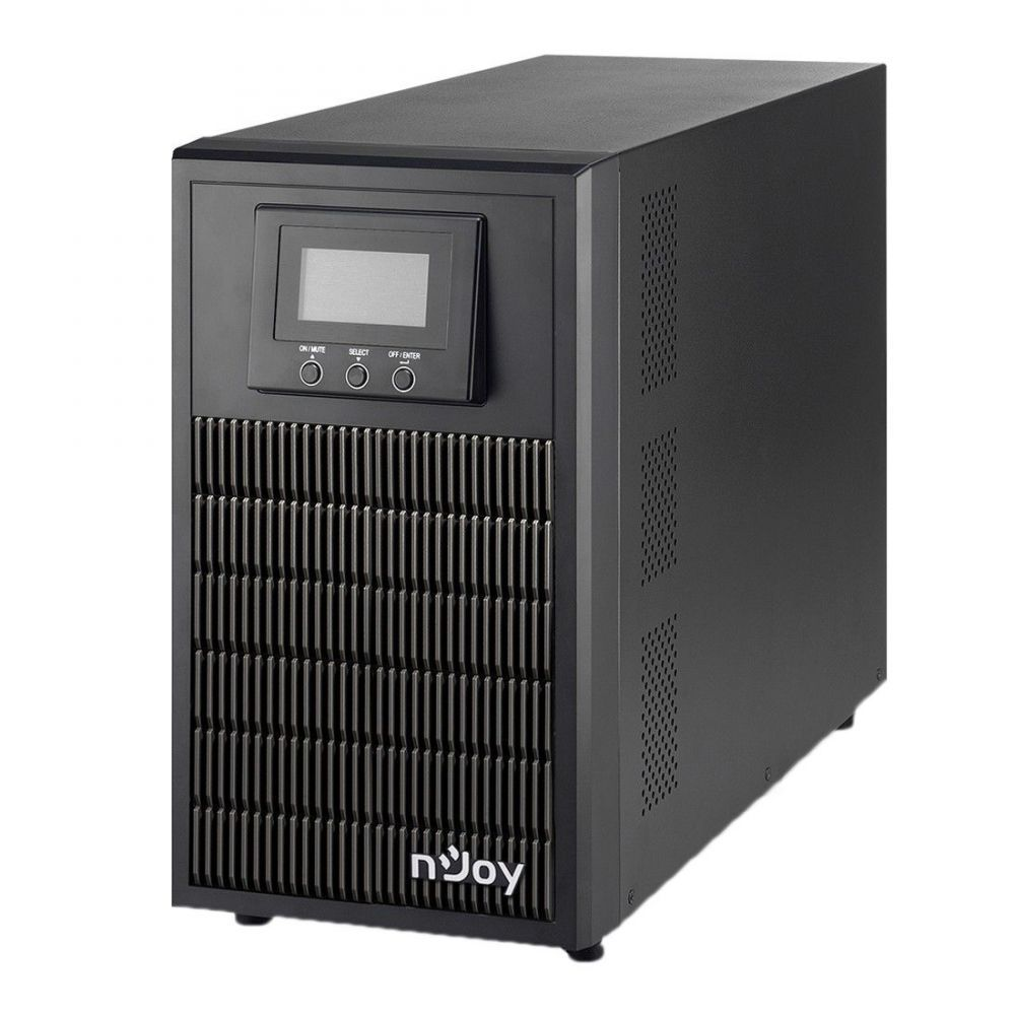 UPS nJoy Aten PRO 3000 3000VA/2700W On-line LCD Display 3 Prize Schuko cu Protectie Management Tower Dubla conversie PWUP-OL300AP-AZ01B