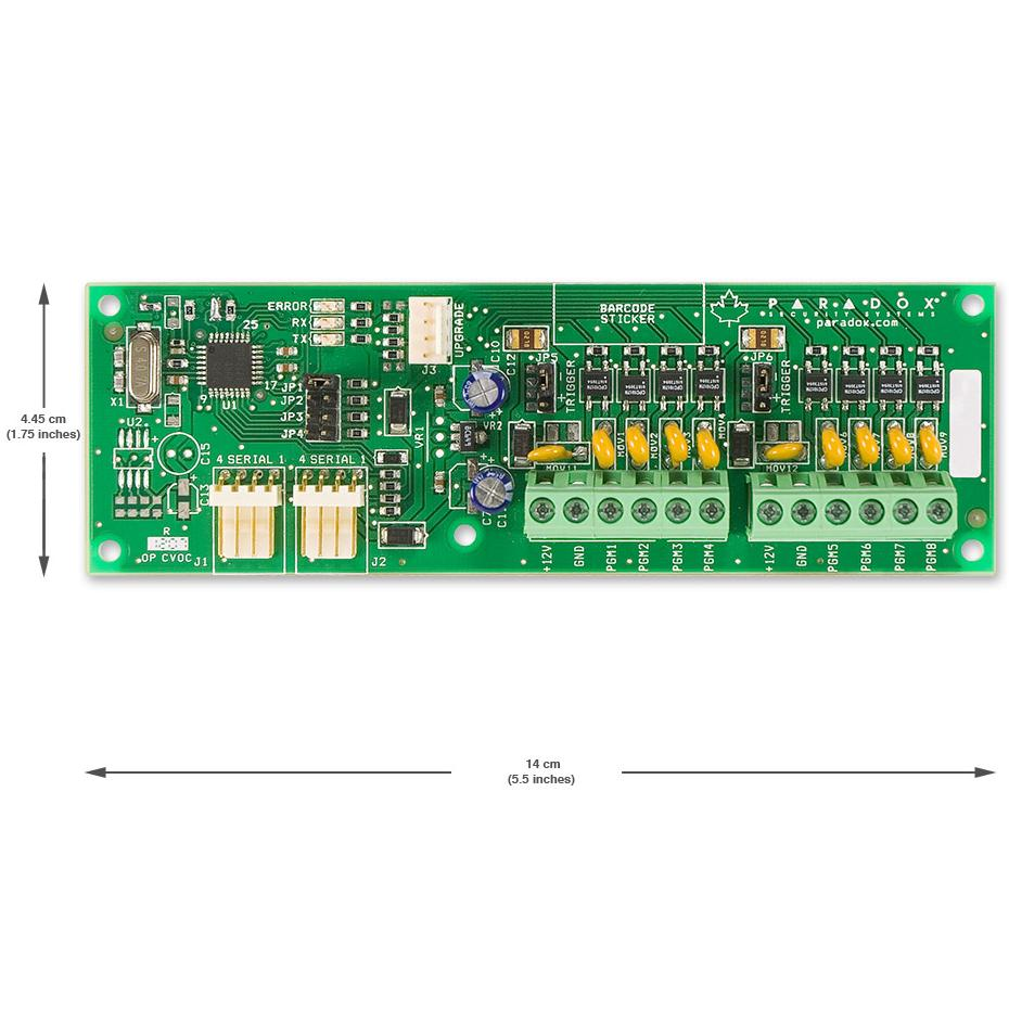 Modul De Iesire Wireless Pentru Transmitatorul Magellan Paradox Px8