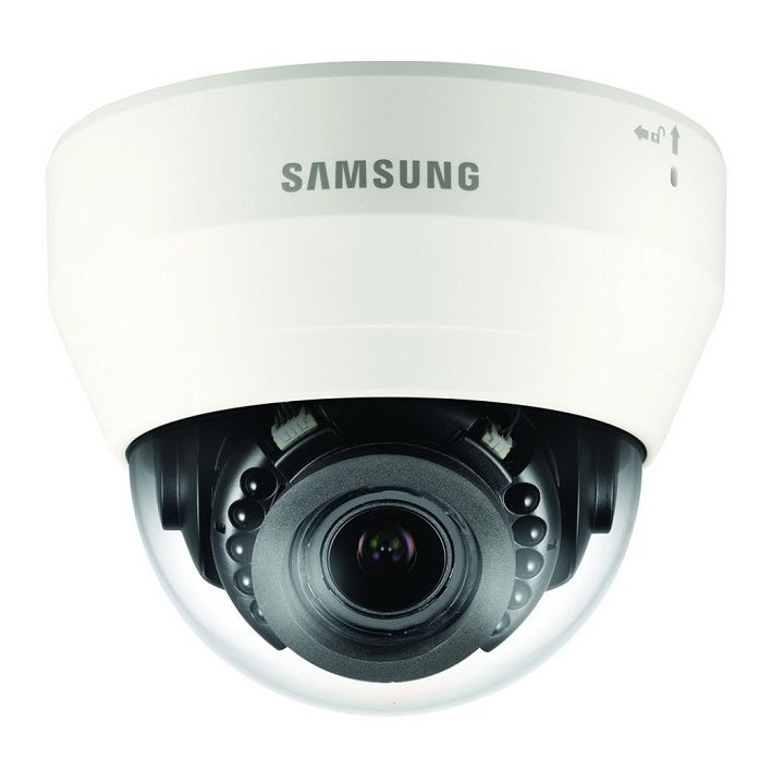 Camera Ip Dome De Interior Samsung Qnd-6070r 2mp.
