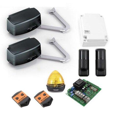 Kit automatizare porti batante Roger R23/284 pentru porti cu lungimea maxima de 3.5m