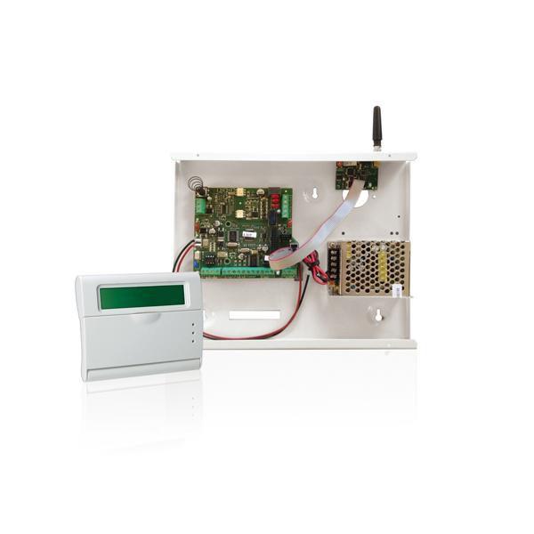 Centrala Alarma Radio Cu Tastatura Lcd Amc R400