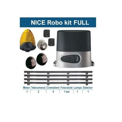 Kit Automatizare Poarta Culisanta Nice Robokce