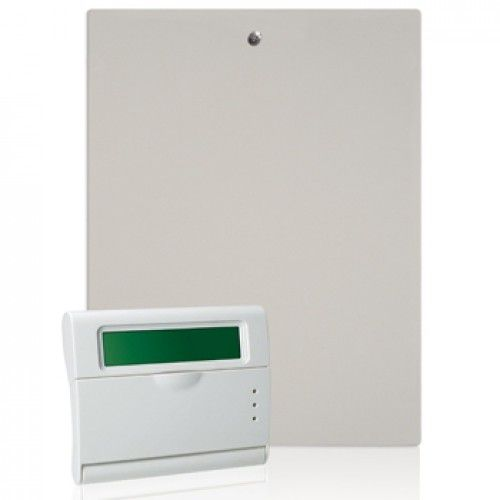 Centrala Alarma 4 Zone Cu Tastatura Amc S412+k-lcd