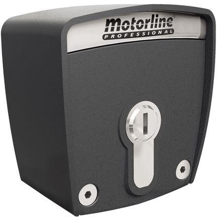 Selector cu cheie Motorline SCMV150 montaj la exterior carcasa antivandal