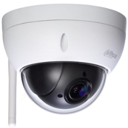 Speed Dome IP wireless Dahua SD22204T-GN-W de 2Mp zoom optic 4x 2.7mm ~ 11mm
