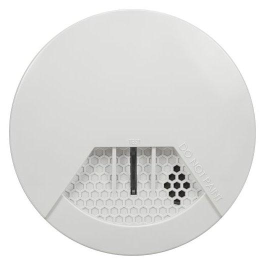 Detector radio de fum - montare tavan Paradox SD360; un senzor fotoelectric de fum de inalta sensibilitate; design compact; sirena