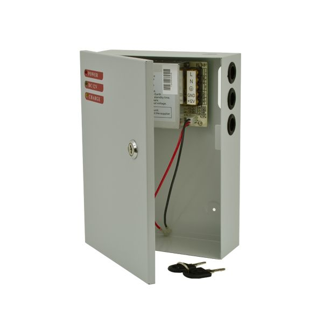 Sursa de alimentare in carcasa metalica SDC-12-5B 12V 5A backup