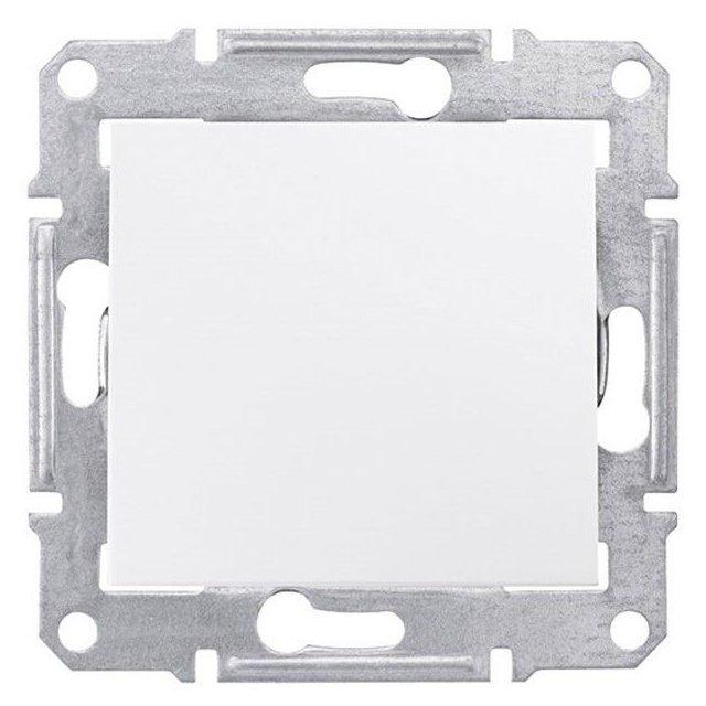 Intrerupator 10 AX - 250V alb Schneider Sedna SDN0100121