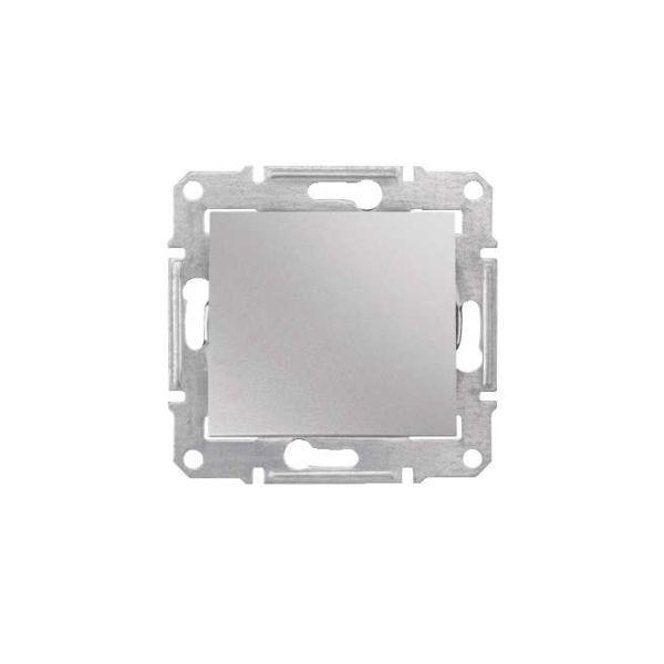 Intrerupator Simplu Aluminiu Schneider Sedna Sdn0100160