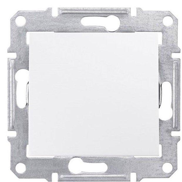 Intrerupator cap cruce 10AX - 250V alb Schneider Sedna SDN0500121