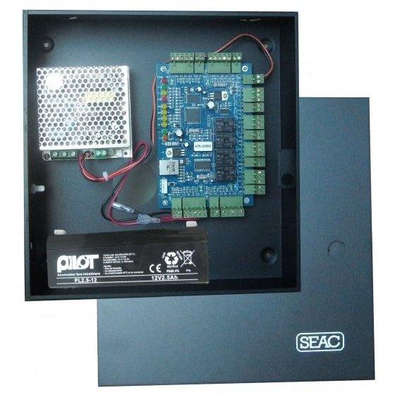 Centrala control acces 4 usi unidirectionale SEAC-IP4