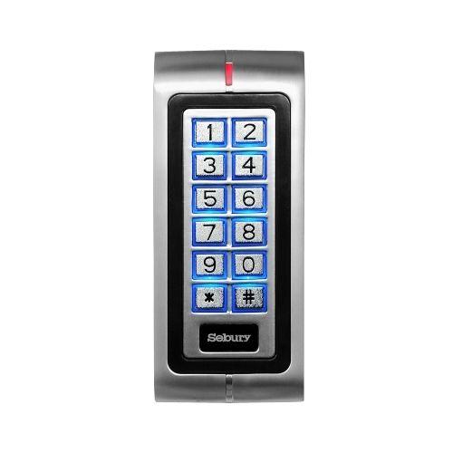 Controler standalone antivandal Sebury SEB-K2 functioneaza cu cartele EM125Khz si/sau cod PIN taste iluminate