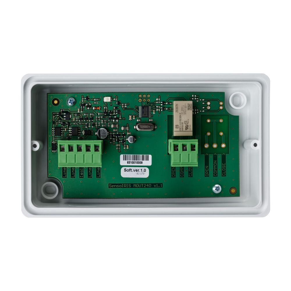 Modul adresabil Teletek SensoIRIS MC-Z carcasa IP67 protocol TTE