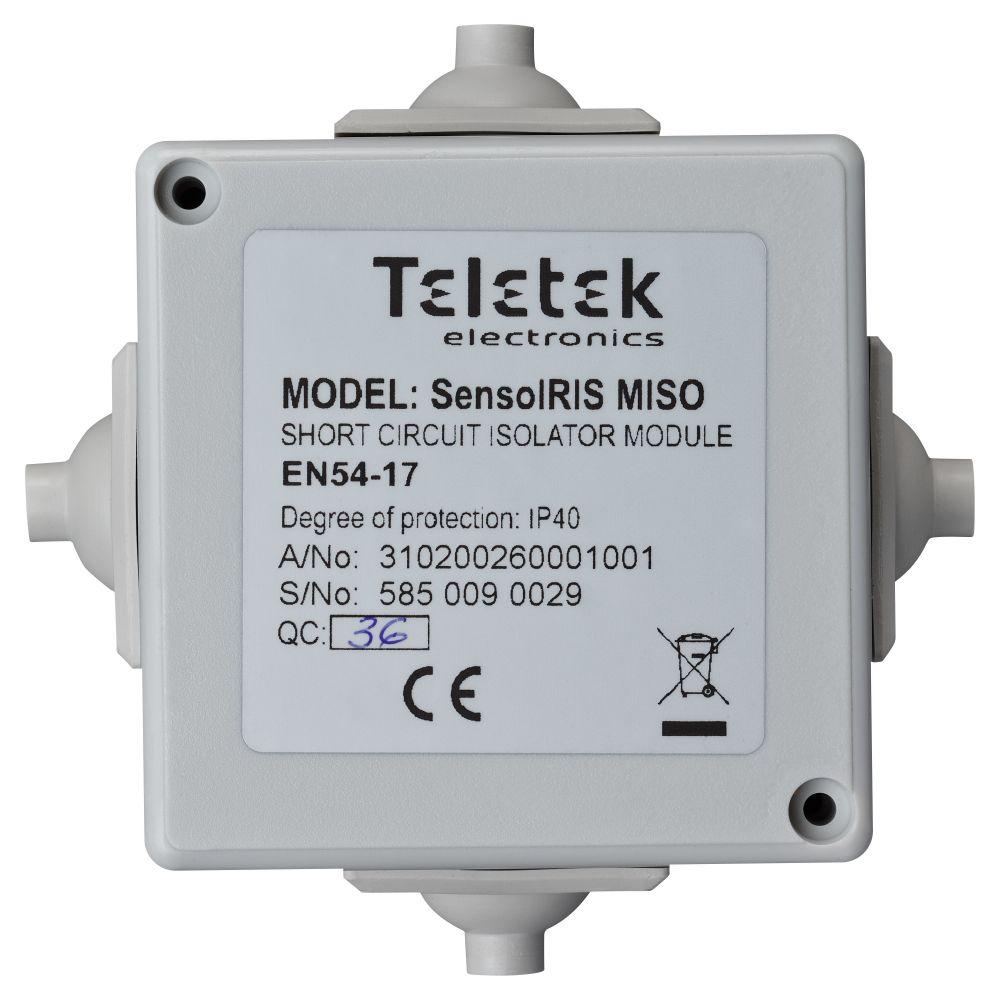 Modul izolator bucla Teletek SensoIRIS MISO