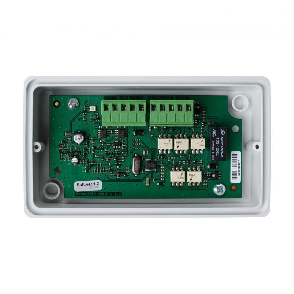 Modul adresabil Teletek SensoIRIS MOUT iesire monitorizata 0.75A pentru sirenele conventionale carcasa IP67
