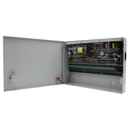 Sursa de alimentare pentru sistemele de supraveghere SIWD1212-16C 12V 12A 16x0.75A