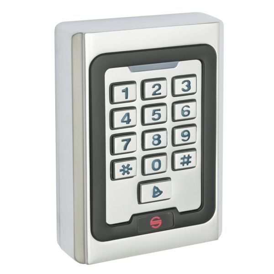 Controler de acces cu tastatura si cartele de proximitate EM (125Khz) Silin SK-500