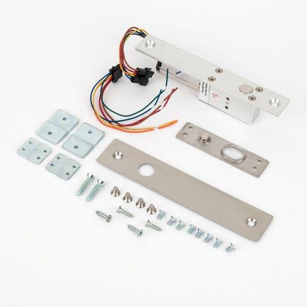 Mini bolt electric incastrabil fail-safe cu monitorizare si temporizare SL-133