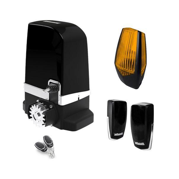 Kit automatizare poarta culisanta Motorline SLIDE800A-KIT 800KG uz industrial + lampa