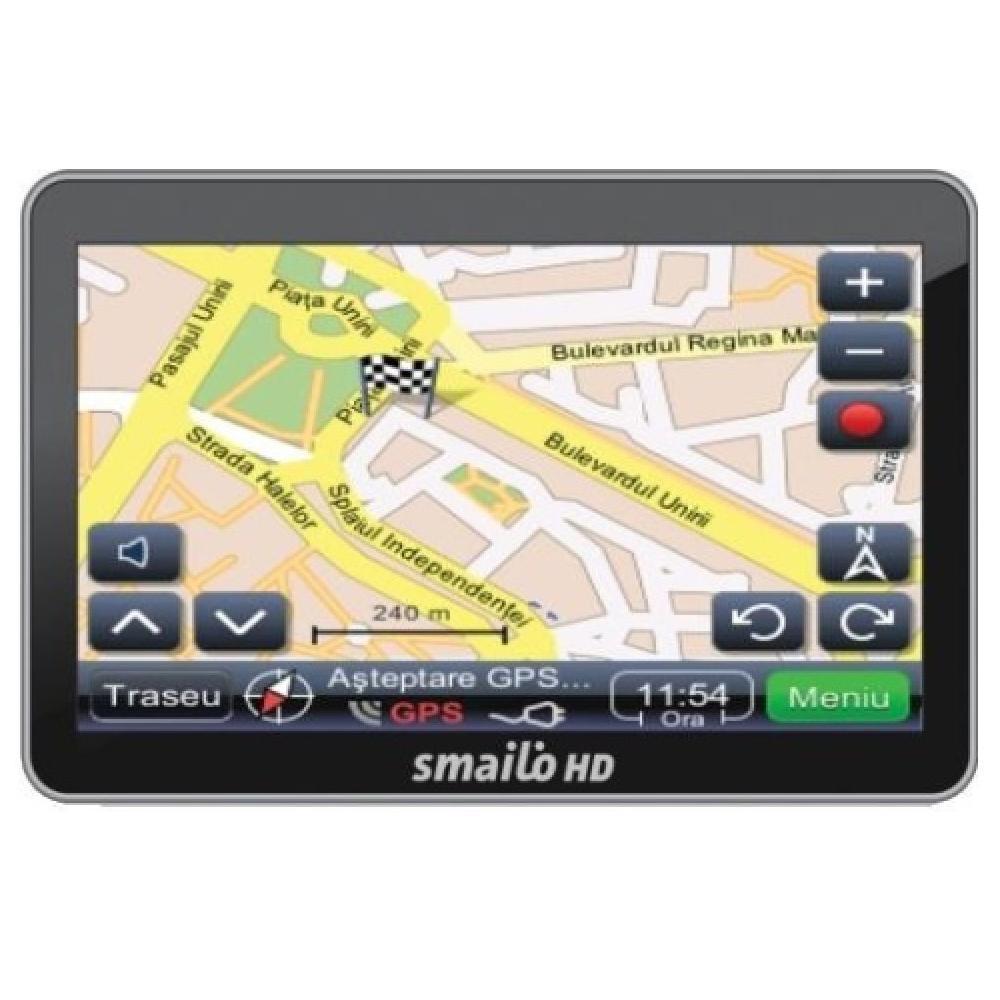 Navigator Gps 4.3 Smailo Hd 4.3 Harta Romania