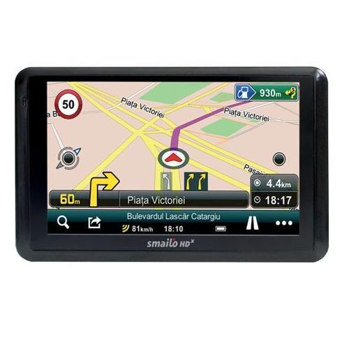 Navigator Gps 7 Smailo Hd 5.0 Harta Romania