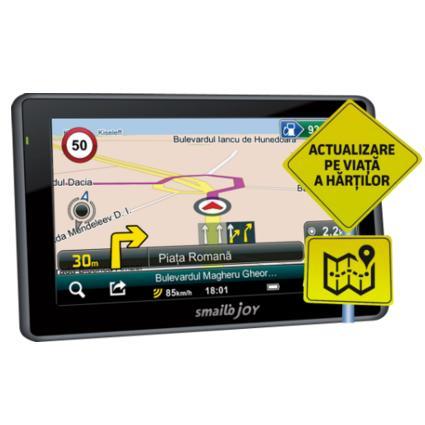 Navigator Gps 4.3 Smailo Joy Feu Lmu Harta Full Europa + Actualizari Gratuite