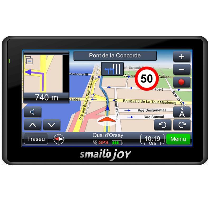 Navigator Gps 4.3 Smailo Joy Feu Harta Full Europa