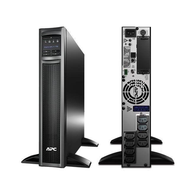 UPS APC SMX750I Smart-UPS X line-interactive 750VA / 600W 8 conectori C13 extended runtime rackabil 2U/tower