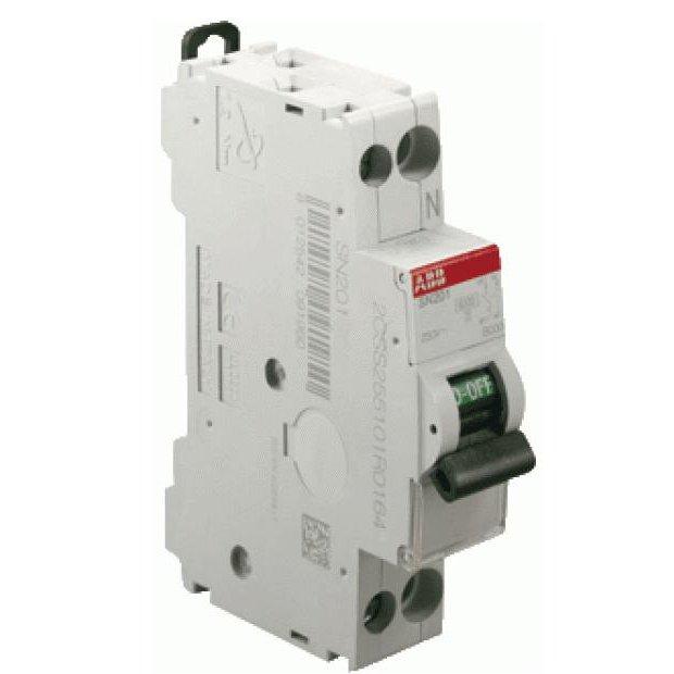 Siguranta automata 1P+N 40A ABB SN201L-C40