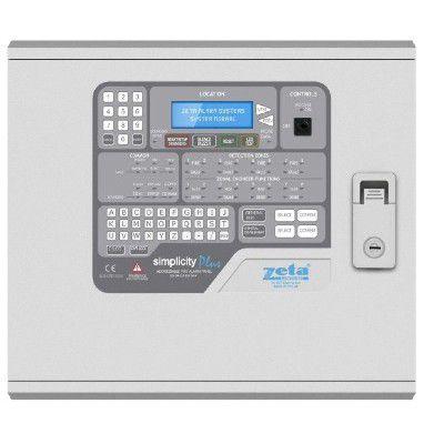 Centrala Adresabila 8 Zone Zeta Sp-126m