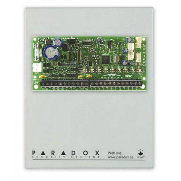 Imagine Placa Centrala Alarma Sp7000 Cutie Si Transformator