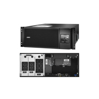 UPS APC Smart-UPS SRT online dubla-conversie 6000VA / 6000W 6 conectoriC13 4 conectori C19 extended runtime rackabil 4U baterie SRT6KRMXLI