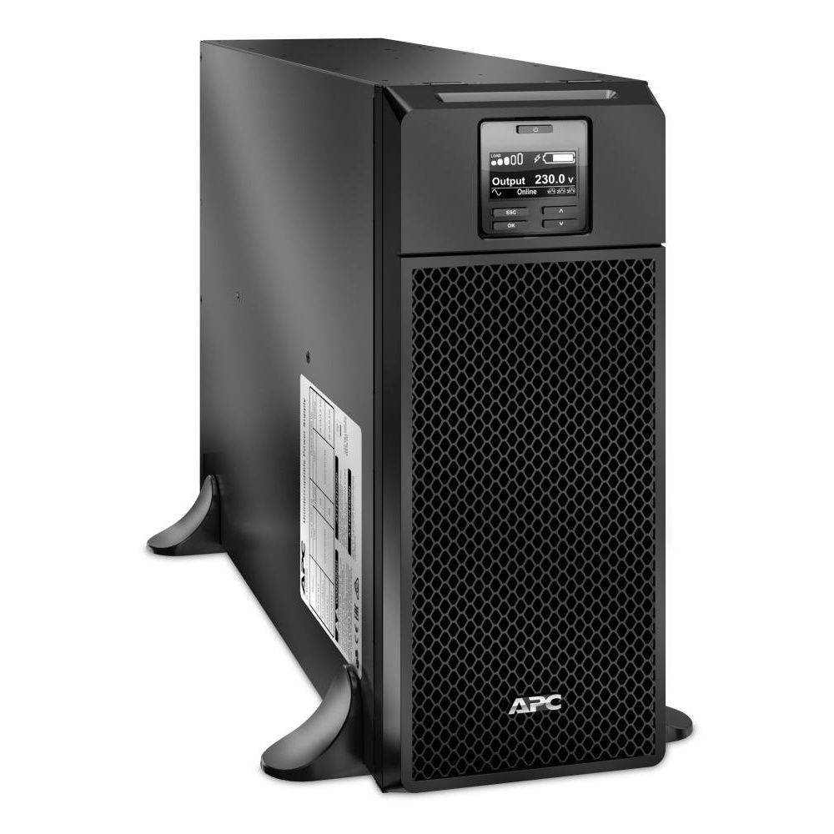 UPS APC Smart-UPS SRT online cu dubla-conversie 6000VA/6000W 6 conectori C13 4 conectori C19 extended runtime EPO SRT6KXLI