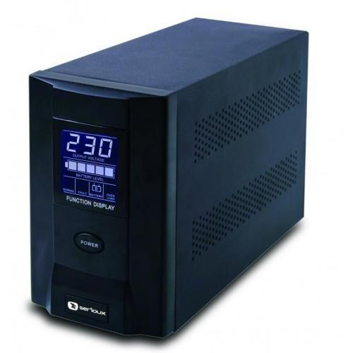 UPS Serioux ProtectIT 1000S ProtectIT 1000S 1000VA >8min back-up (half load) 2 baterii ecran LCD negru