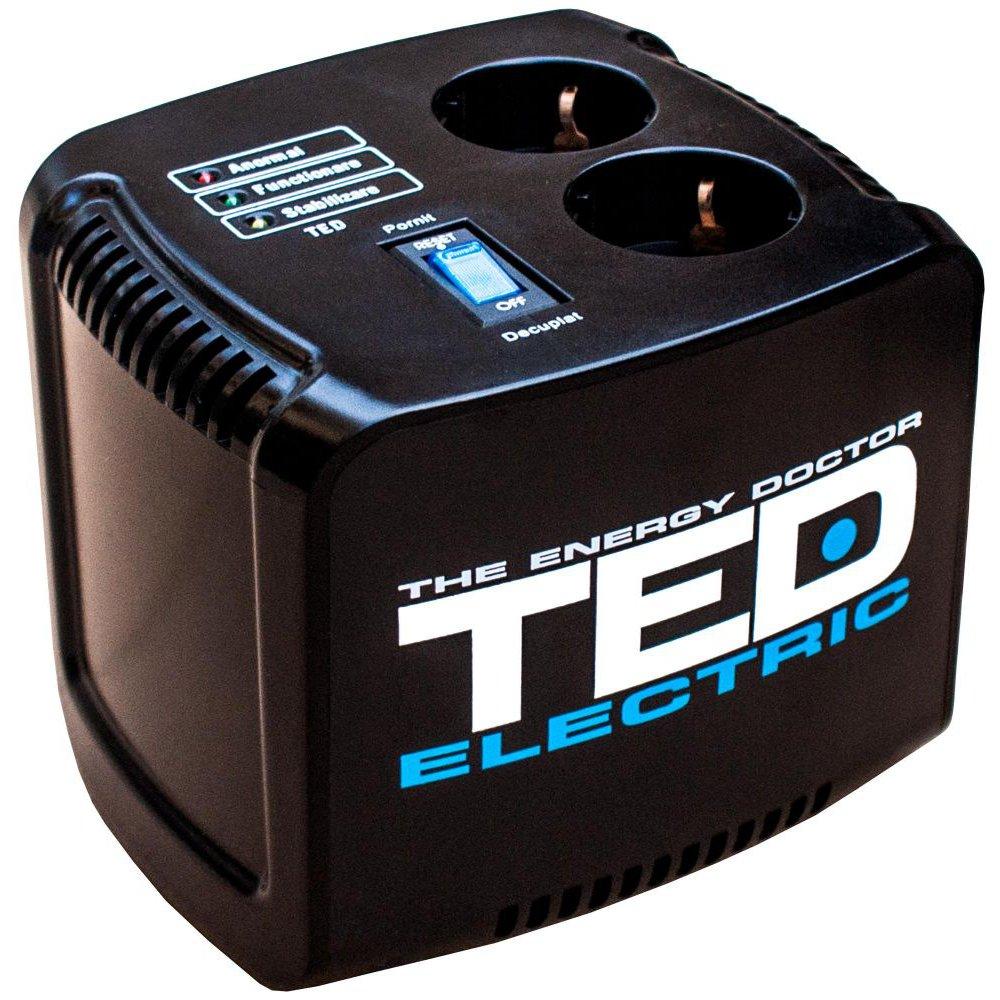 Stabilizator de retea maxim 500VA / 300W Ted 500