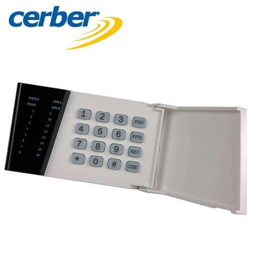 Tastatura LED adresabila Cerber KP-164PZ