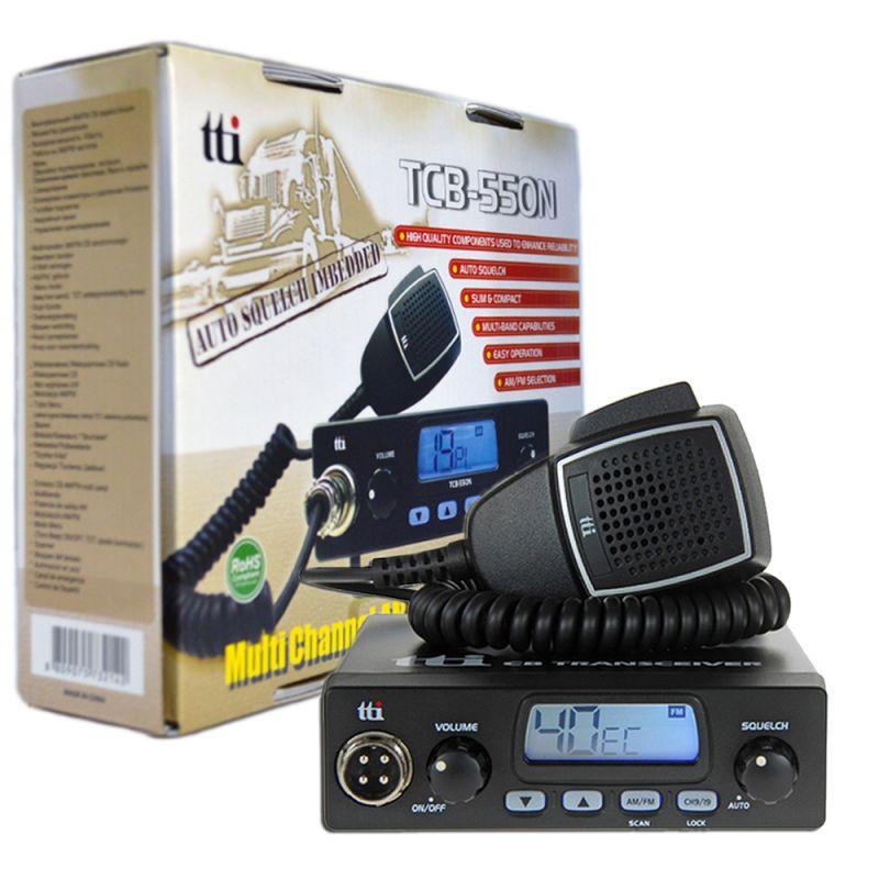 Statie Radio Cb Tti Tcb-550 N Cu Squelch Automat
