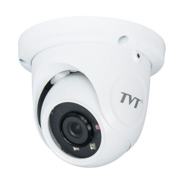 Camera Dome Ip 2mp Tvt Td-9524s1(d/pe/ar1) 3.6mm. Ir 20m. Ip66. Poe. Onvif
